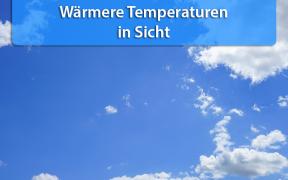 Wärmere Temperaturen Ende September 2019