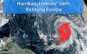 Hurrikan Lorenzo Europa 2019