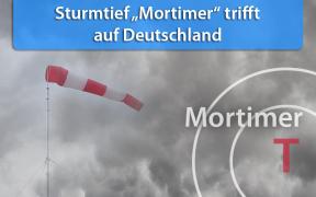 Sturmtief Mortimer am 29. und 30. September 2019