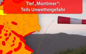 Sturmtief Mortimer am 29. und 30. September 2019