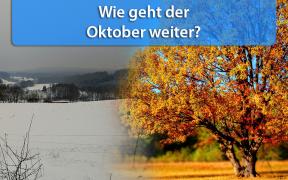 Wetter-Trend Mitte und Ende Oktober 2019