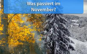 Klimatrend November 2019