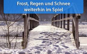 Schnee, Regen und Frost Anfang und Mitte November 2019