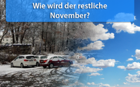 Wettertrend November 2019