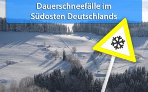 Schnee im Südosten am 12. und 13. November 2019