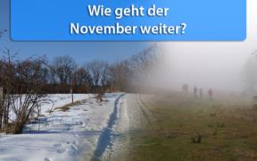 Klimatrend 15. bis 30. November 2019