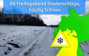 Schneefall am 15. und 16. November 2019