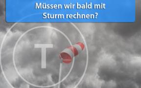 Sturmgefahr Monatswechsel November - Dezember 2019