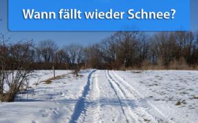 Winterwetter Ende Dezember 2019