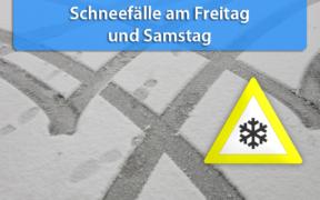 Schnee Anfang Januar 2020