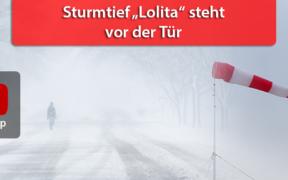 """Sturmlage """"Lolita"""" mit Schauern und Gewittern am 28. Januar 2020"""