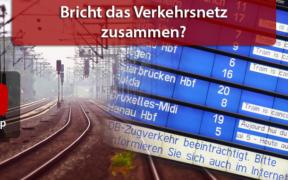 """Zug- und Flugausfälle aufgrund Orkan """"Sabine"""""""