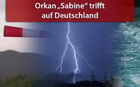 """Orkan """"Sabine"""" Februar 2020"""