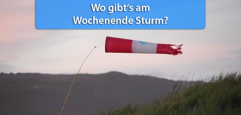Sturm Wochenende