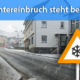 Wintereinbruch Ende Februar 2020