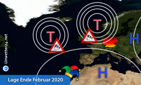 Sturm und Orkan Ende Februar 2020