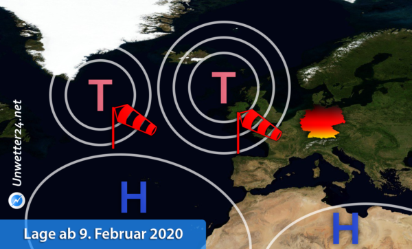 Sturmserie Mitte Februar 2020