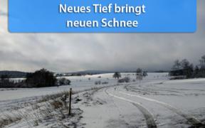 Tief Elli bringt am 05. März 2020 Schnee