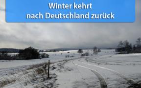 Kälteeinbruch Ende März 2020