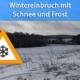 Wintereinbruch Ende März 2020