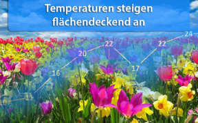 Temperaturtrend April 2020