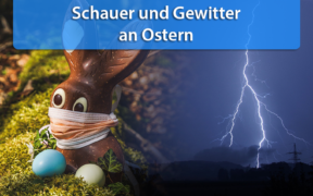 Schauer und Gewitter an Ostern 2020