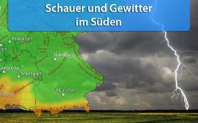 Gewitter am 25. und 26. April 2020