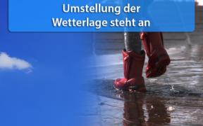Mehr Regen Ende April 2020