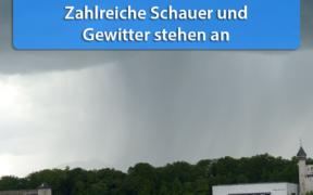 Schauer und Gewitter Ende April und Anfang Mai 2020