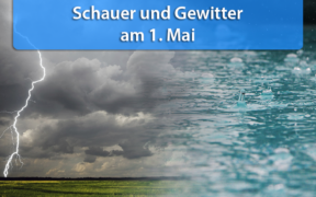 Schauer und Gewitter am 1. Mai 2020
