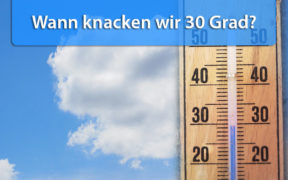 30 Grad Ende Mai 2020