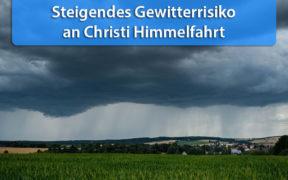Gewitterrisiko Christi Himmelfahrt 2020