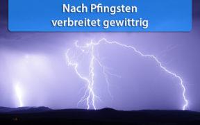Gewitter Anfang Juni 2020
