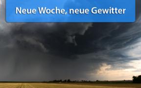 Schauer und Gewitter Mitte Juni 2020
