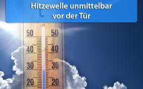 Hitzewelle Ende Juni 2020