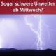 Tief Thekla Unwetter am 01. und 02. Juli 2020