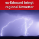 Unwetterartige Gewitter ex-Edouard