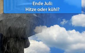 Wettertrend Ende Juli 2020