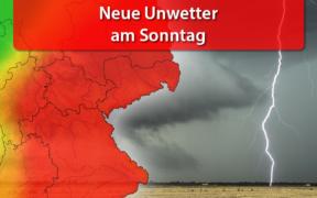 Unwetter am 02. August 2020