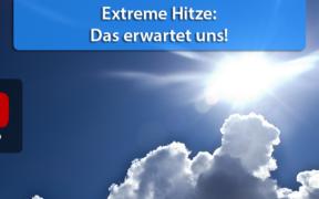 Extreme Hitzewelle Anfang und Mitte August 2020