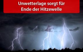 Unwetterlage 13. und 14. August 2020