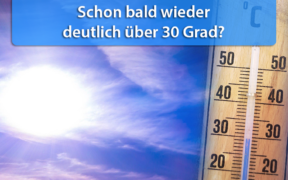 Extreme Hitze Ende August 2020