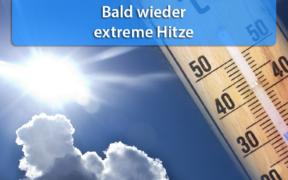Bis 38 Grad Ende August 2020