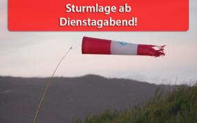 """Sturmtief """"Kirsten"""" August 2020"""