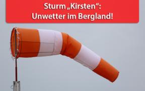 Sturmlage Ende August 2020