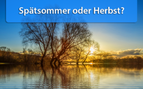 Wettertrend Anfang und Mitte September 2020