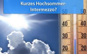 Hitze Anfang September 2020