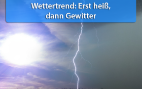 Wettertrend Mitte September 2020