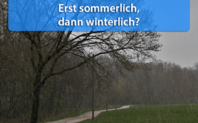 Wettertrend Ende September 2020