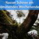 Nasser Schnee Ende September 2020